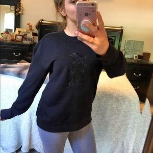 DKNY monkey sweater